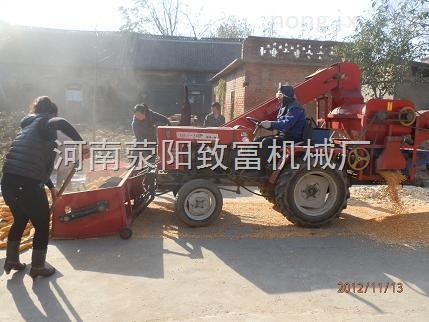 【精品】自动上料玉米脱粒机,拖拉机玉米脱粒机