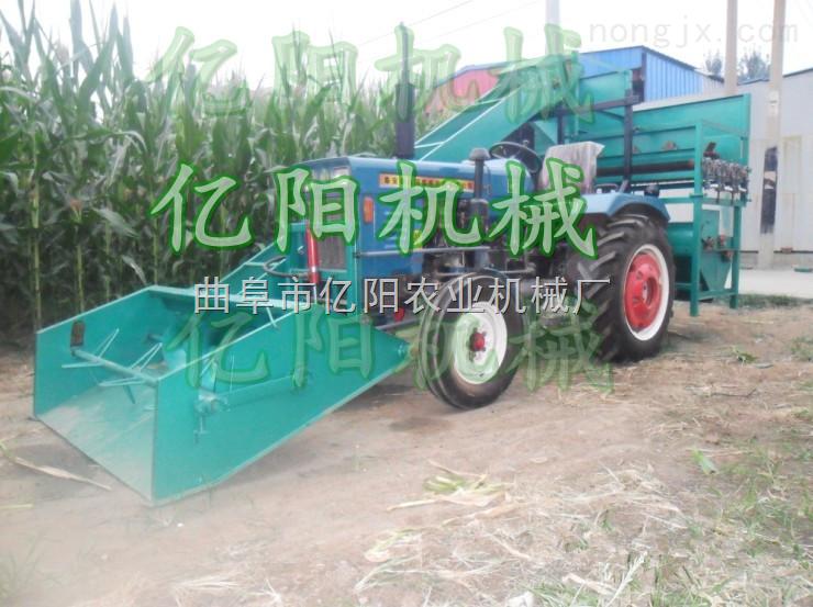 自走式玉米脱粒机 自动上料玉米脱粒机视频