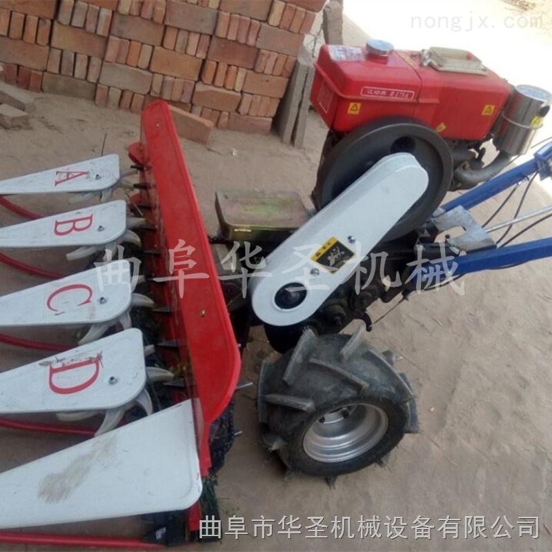 手扶自走小麥收割機 一體式整機收割機