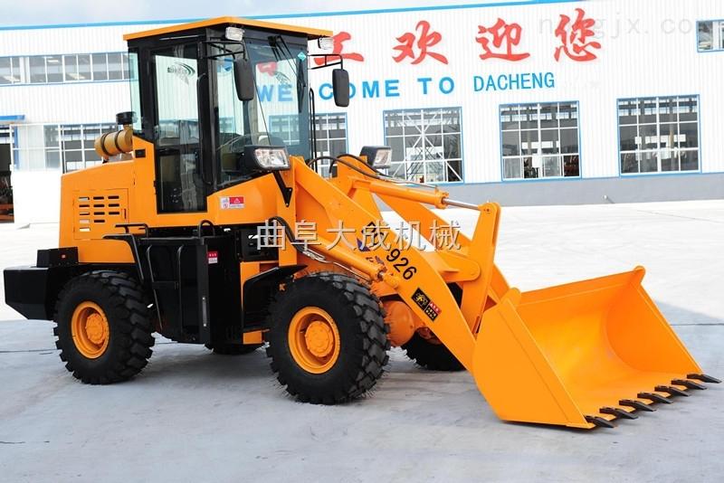 大成零售小型装载机 ZL926型农用液压推土机 方向盘式ZL926铲车