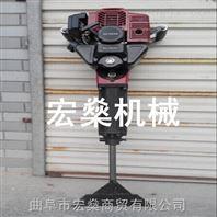 汽油挖树机 手提式起苗机 大马力挖树机