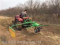 启辰机械生产搂草摊晒3.5米配35马力以上搂草翻晒机新疆地区专用