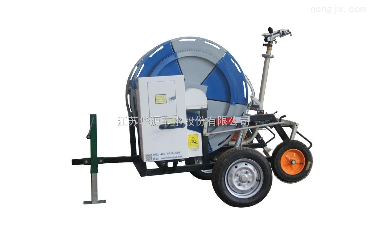电动平移喷灌机,时针式喷灌机-华源节水