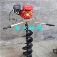 操作简单手持式汽油挖坑机