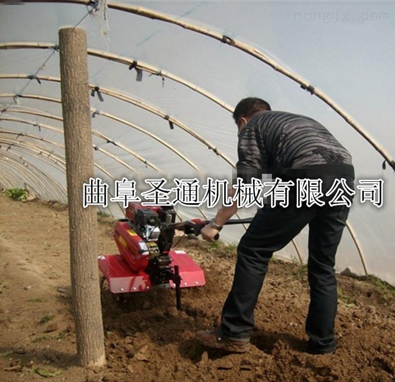 汽油動力輕便微耕機 手扶式苗圃中耕松土機