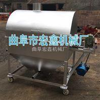 新一代炒货机 不锈钢滚筒炒花生机设备 电热炒货机价格