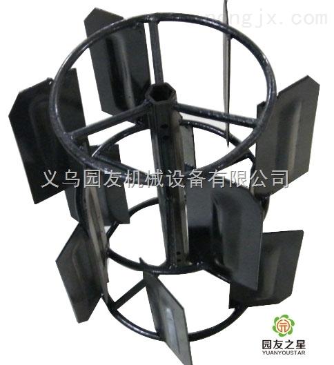 微耕機錯層水田輪 汽油機直板水田輪 旋耕機配件
