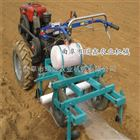 花生喷药地膜覆盖机 农用双行起垄覆膜机 播种施肥喷药覆膜一体