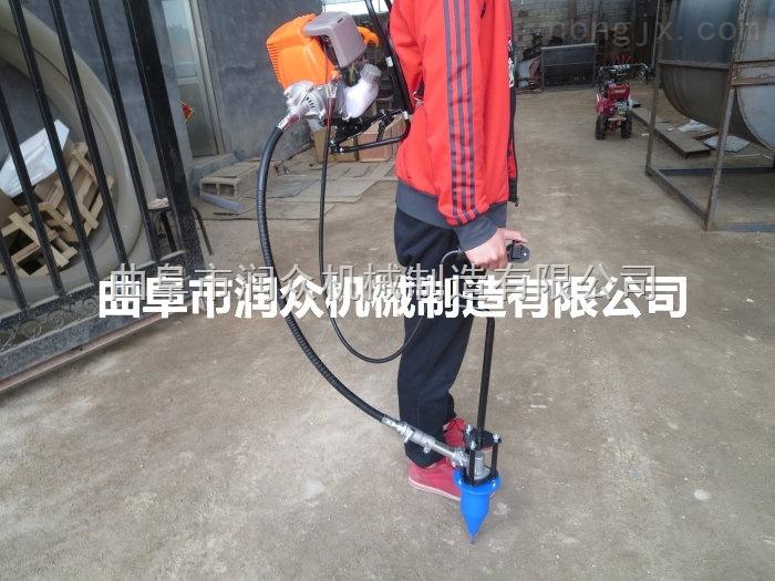 批发两冲程烟钻 节省人力汽油烟钻 背负式烟田打孔机