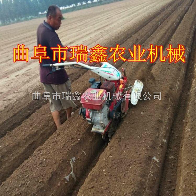 rx-7.5-大棚蔬菜种植起垄机 葡萄开沟埋藤机图片 汽油开沟机