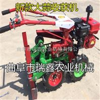 厂家批发大蒜收获机 多功能起挖蒜机 优质大蒜收获机