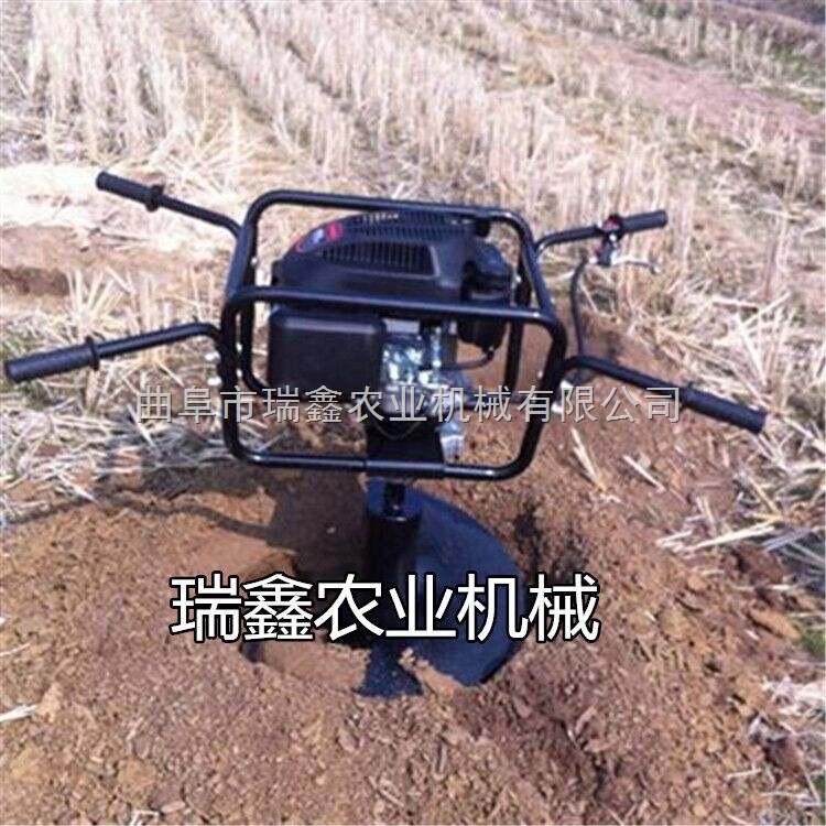 RX-WKJ-大直径地钻机 高效硬土植树挖坑机 车载式大型植树挖坑机