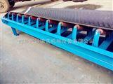 两托辊皮带输送机   20米长水平运输机定制