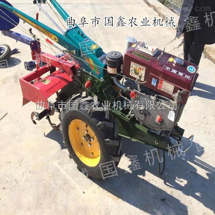 手扶拖拉機玉米收割機 手扶拖拉機旋耕機 農用手扶旋耕機型機械