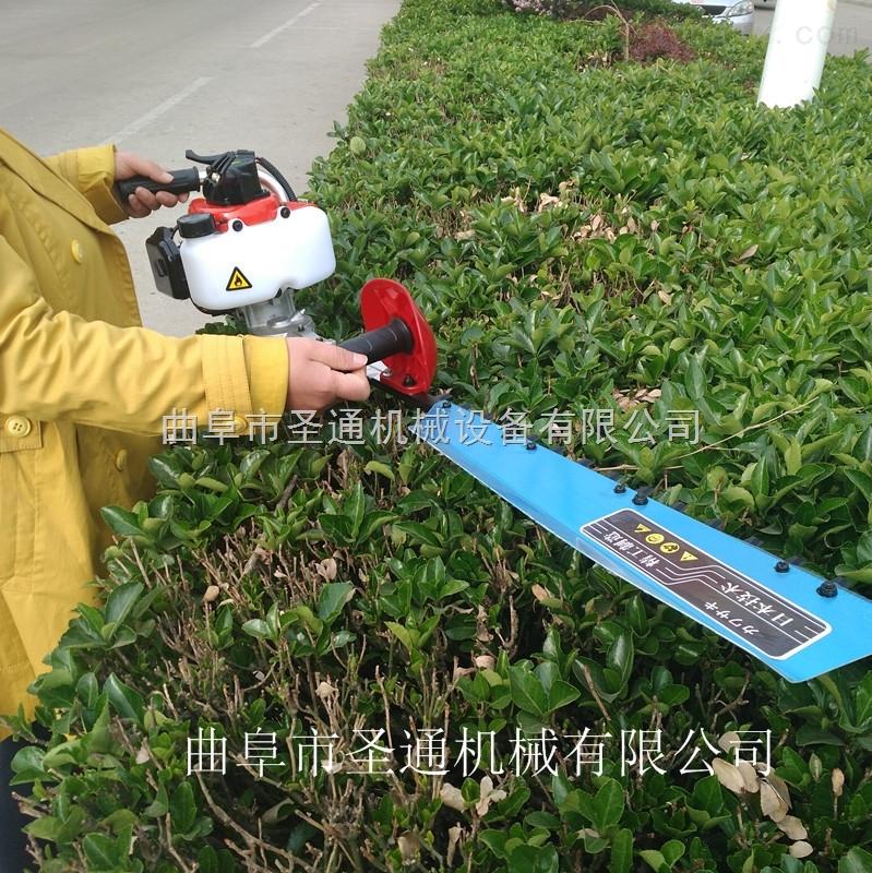 家用茶園低故障修剪機 便攜式汽油綠籬修剪機
