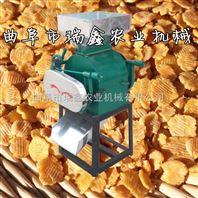 对辊式挤扁压扁机 大豆燕麦轧压扁机 家用电动挤扁机厂家