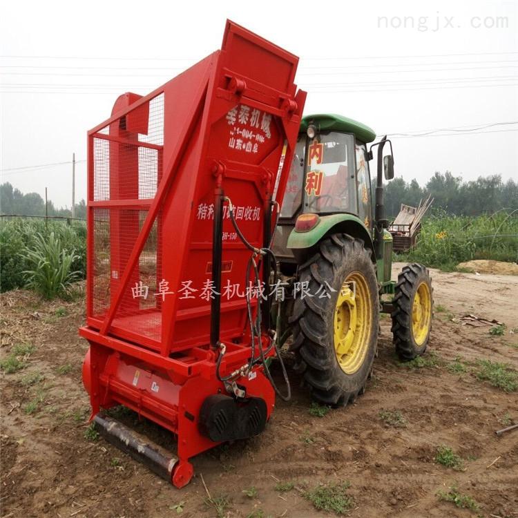 玉米秸秆粉碎收获机 青储回收粉碎一体机