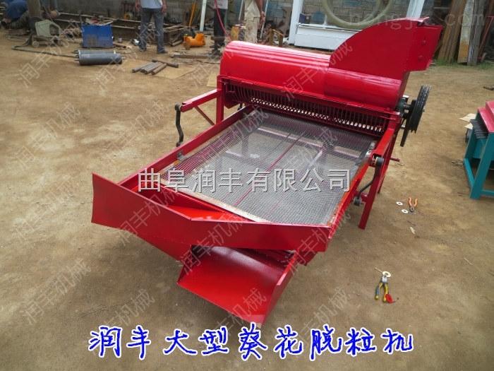 专业生产葵花籽脱粒机 每小时3000斤产量油葵脱粒机
