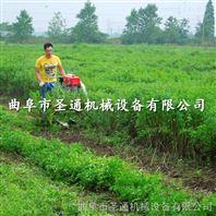 手推式黑麦草收割机,大面积养殖牧草侧放机