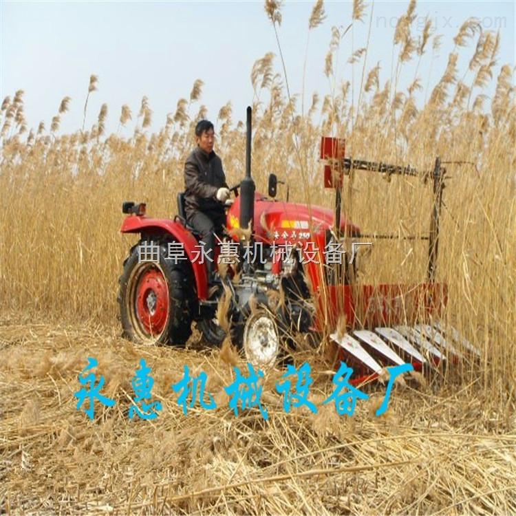 小型麦稻割晒机 油菜苜宿草收割机 拖拉机带动的收割机