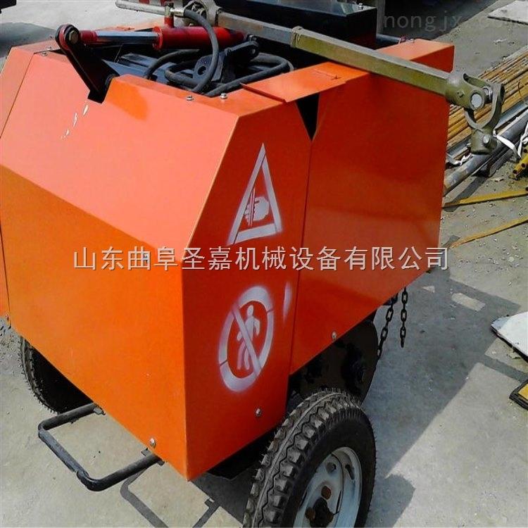 JC-5080-湖北青贮秸秆打捆机制造商 行走式秸秆打捆机 打包机价格