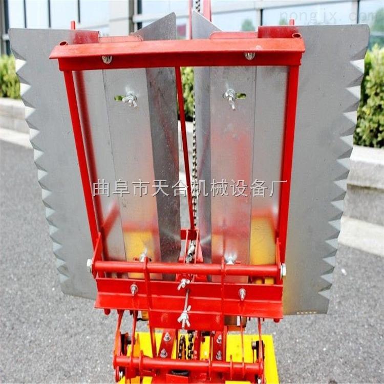 手扶式小型水稻插秧机 手动手摇式水稻插秧机 高效节能型插秧机
