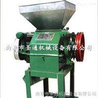 耐用小型豆扁机 粮食豆谷挤扁机