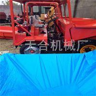 矿用载重工程柴油三轮车 液压自卸散装物料运输翻斗车 轮式液压四轮翻斗车生产厂家