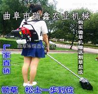 两冲程松土除草机 小型背负式铲草机 背负式锄地机