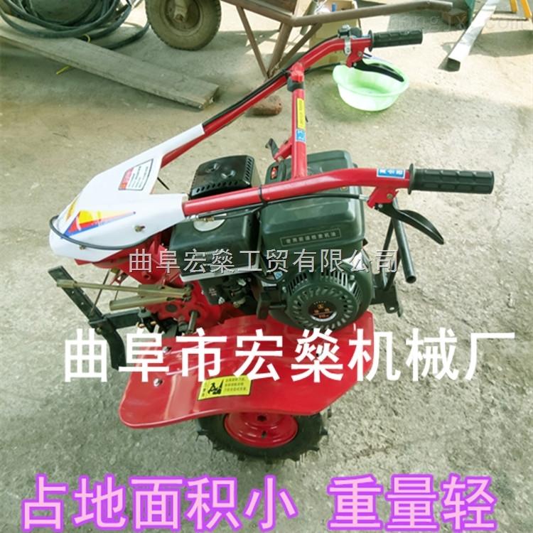 小型汽油微耕机 手扶旋耕机除草机 果园除草机