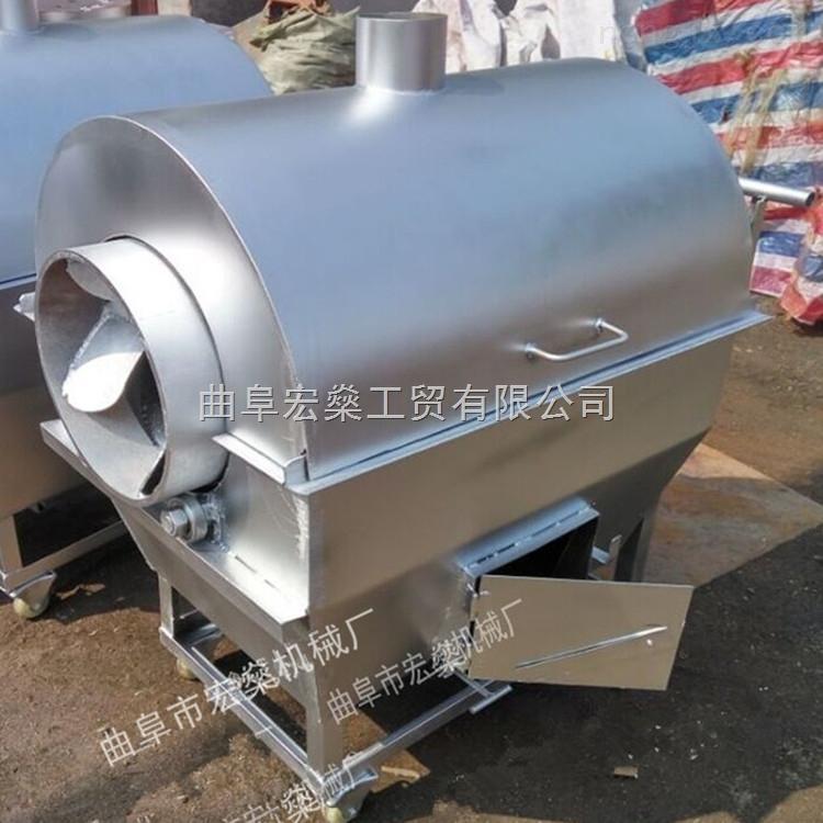 白玉县宏燊现货供应花生炒货机 休闲食品加工设备厂家