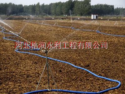 陕西大田园林绿化喷灌系统 大喷头布置方式