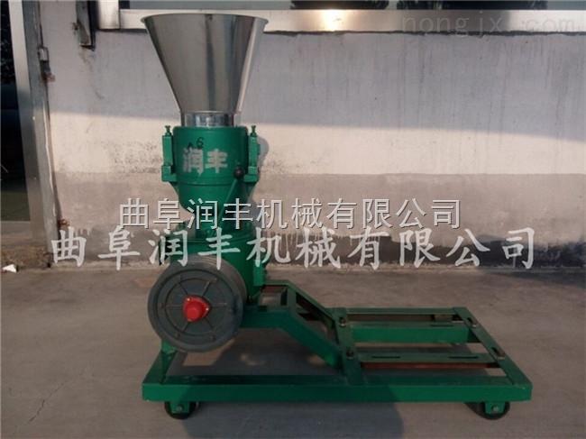 猪饲料加工机械 压辊颗粒饲料机