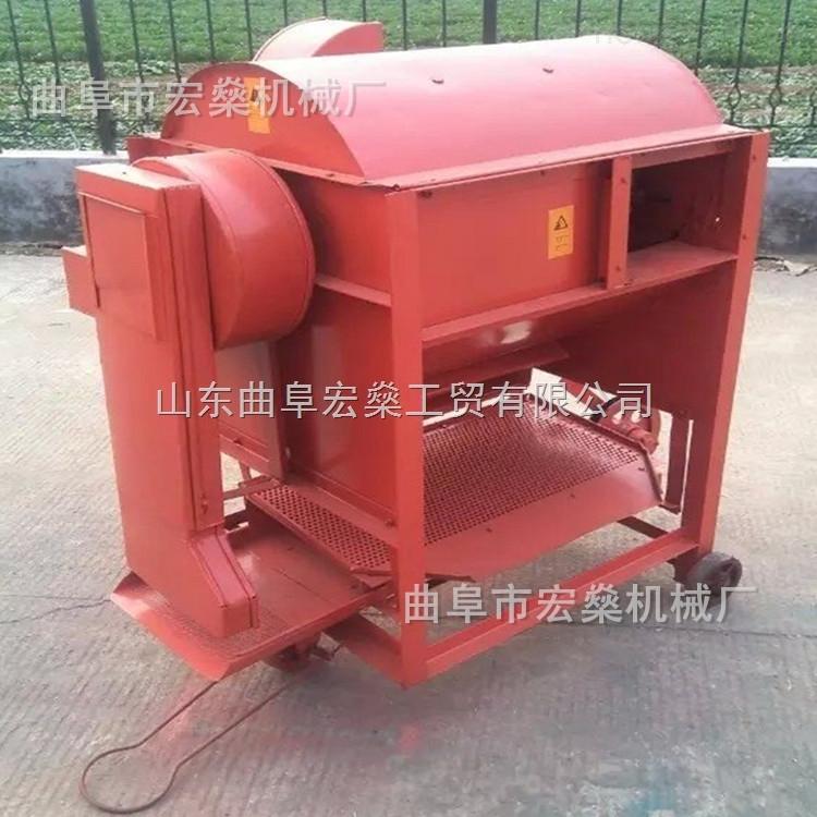 HS-TL75-丰县全自动化谷子小麦脱壳机 稻谷脱粒机