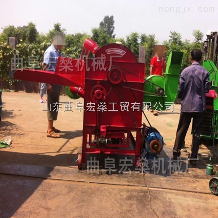 水稻谷子脱粒机应县供应小型家用脱壳机械厂家