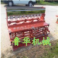 小麦多功能播种机 6行谷子播种机 株距行距可调的播种机