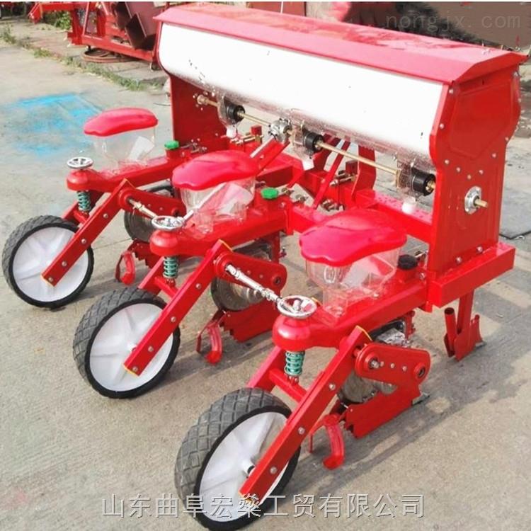 四行玉米免耕播种机 玉米大豆播种机 施肥播种机