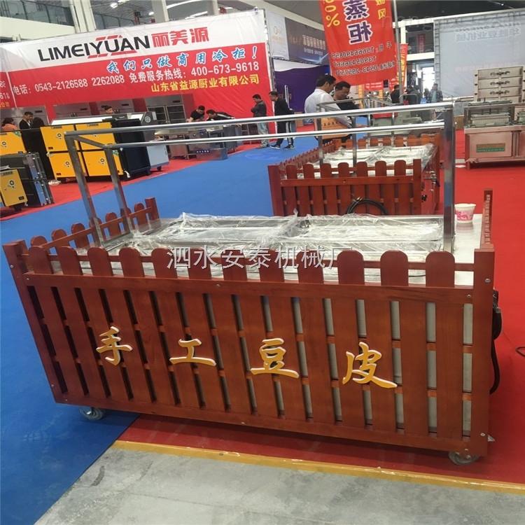 原生态养生鲜豆皮机 全自动节能高效手工腐竹机 手工豆子加工设备