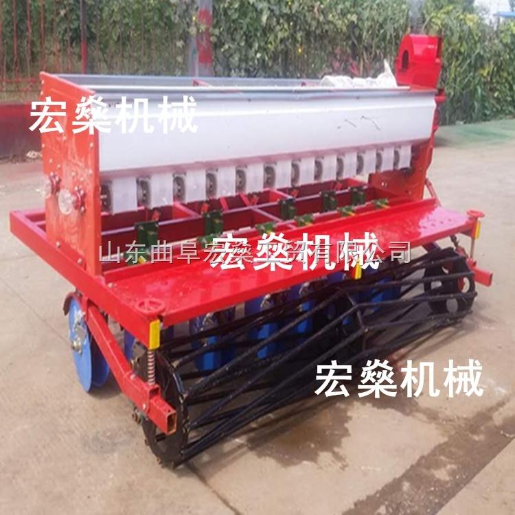 拖拉机带小麦玉米播种机 QF12行小麦播种机厂家