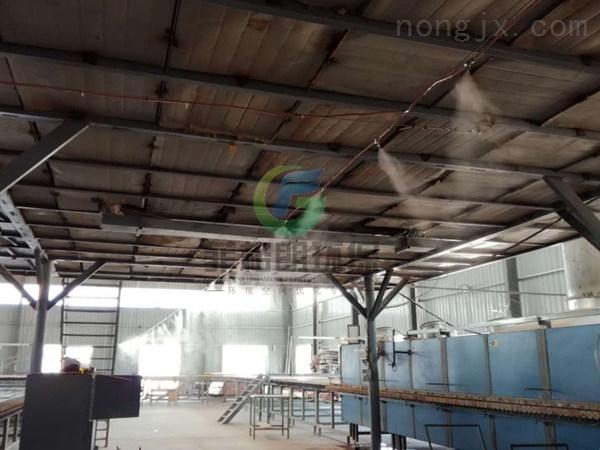 汉中大型仓库/车间/厂房喷雾降温设备工程/物流中心喷雾降温系统厂家