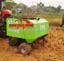 拖拉機牽引式整顆稻草秸稈打捆機價格