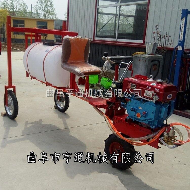 HT- 乘坐式三轮打药车 小麦玉米高杆打药机价格