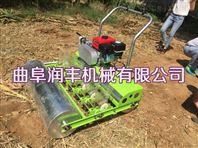 萝卜播种机价格 汽油自走蔬菜播种机图片