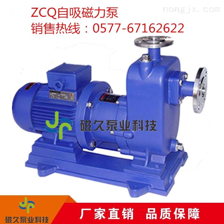 厂家供应ZCQ广泛静音工用自吸泵