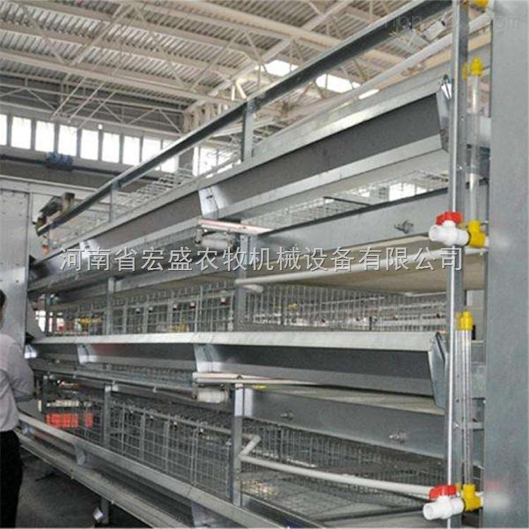 层叠式四层蛋鸡笼|厂家直销自动化养殖设备生产定做 重叠式蛋鸡笼