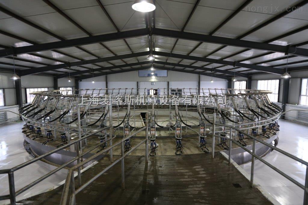 牧场奶牛场转盘式挤奶机鱼骨并列