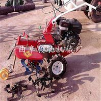 柴油10马力开沟培土机多功能大棚开沟施肥机