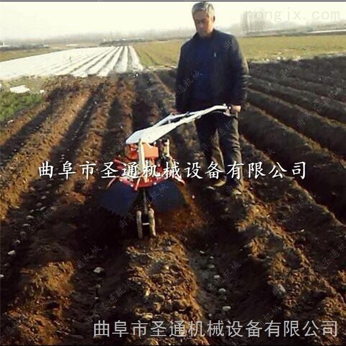 怀化农用开沟机 胡萝卜种植打垄覆膜机