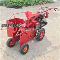 单行玉米收割机 小型手扶式拖拉机配套剥皮干净收获机