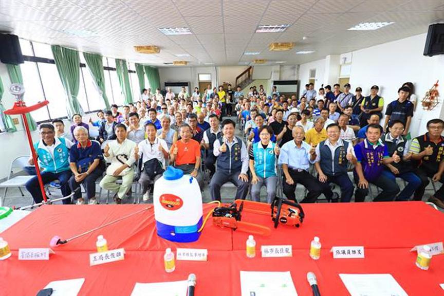 台中市农业局举办小型农机具补助成果验收暨维护保养实作讲座  倾听农友心声